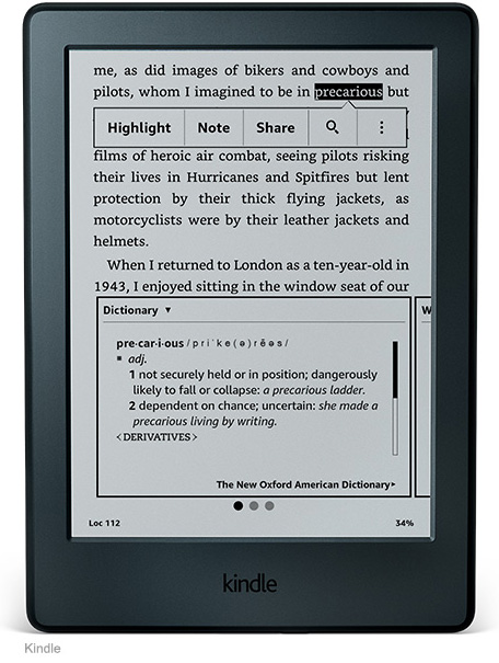 Amazon - Kindle PaperWhite 3 (E-reader)