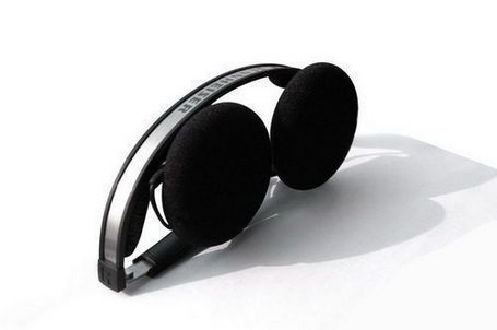 Sennheiser PX 80 Over-Ear Headphone Black//Silver