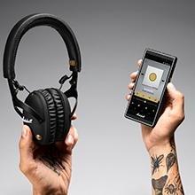 Marshall Monitor Bluetooth Wireless Over-Ear Headphone - TEK