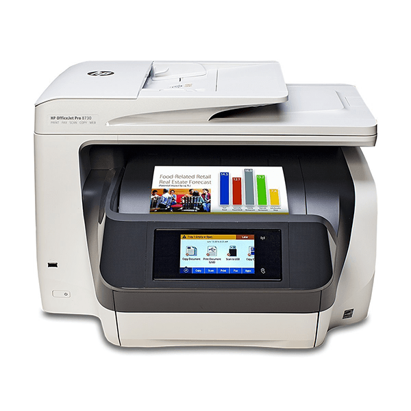 HP Officejet Pro 8730 Wireless All-In-One Color Printer
