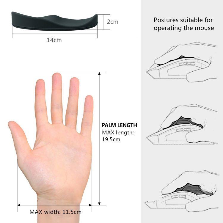 MYCARBON Mouse Wrist Rest - 2