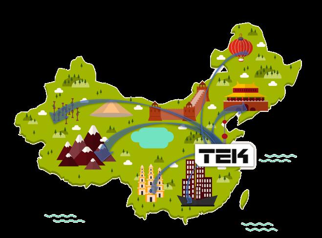 TEK Shanghai delivers China-wide