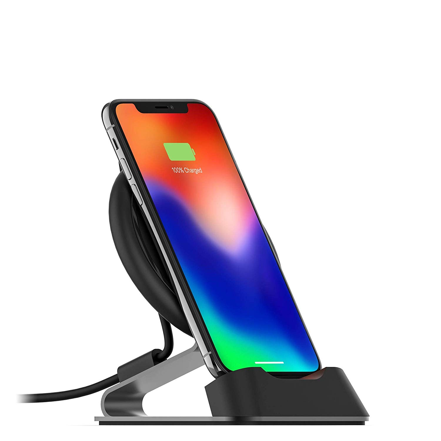 Mophie Wireless Charger Stream Desk Stand For Iphone Xs X 11 11 Pro Max Max Xr 8 8 Plus Samsung Tek Shanghai Mophie universal wireless charger charging car vent mount phone holder black. mophie wireless charger stream desk stand for iphone xs x 11 11 pro max max xr 8 8 plus samsung